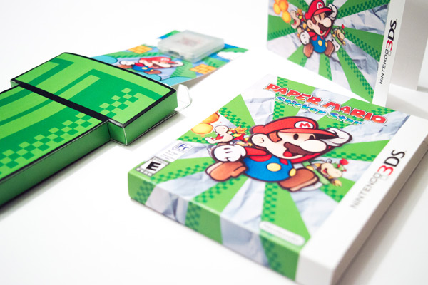 Nintendo DS Eco Friendly Package Design
